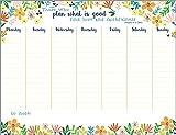 Rejoice Flowers Weekly Planner Pad with Scripture
