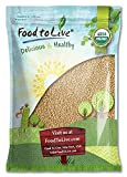 Best Whole Grain Foods - Food to Live Certified Organic Amaranth Grain Review