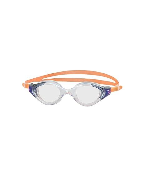 c75394581ba Amazon.com   Speedo Futura Biofuse Swim Goggle (Orange Clear ...