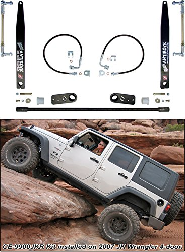 Currie Enterprises CE-9900JKR4 JK ANTIROCK Rear Sway Bar Kit (4 Door Models Only)