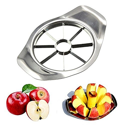 Apple Slicer Corer Cutter Kitchen Gadgets Stainless Steel Apple Cutter Slicer Vegetable Fruit Tools Kitchen Accessories