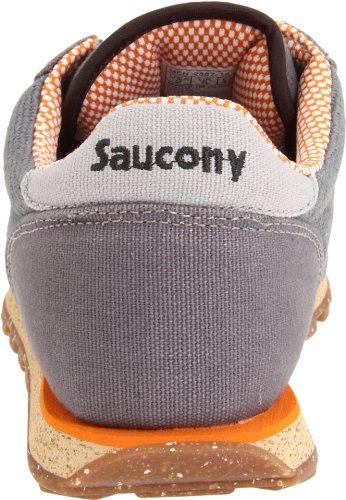 Originali Saucony Mens Jazz Basso Pro Vegan Sneaker Grigio Scuro