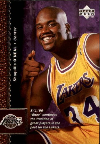 (1996-97 Upper Deck #61 Shaquille O'Neal - NM )