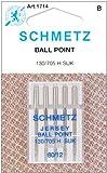 Jersey Ball Point Machine Needles-Size 12/80 5/Pkg