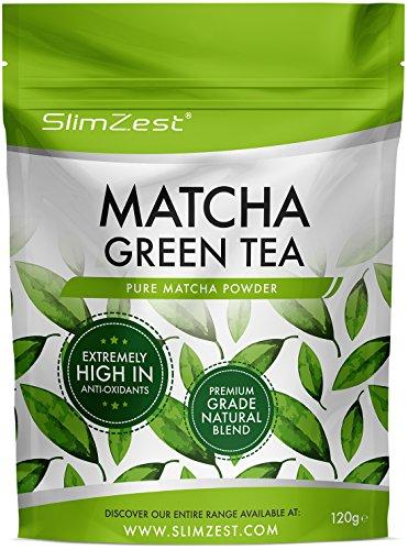 Matcha Green Tea Powder - Premium Grade 120g Pouch - Super Strength...