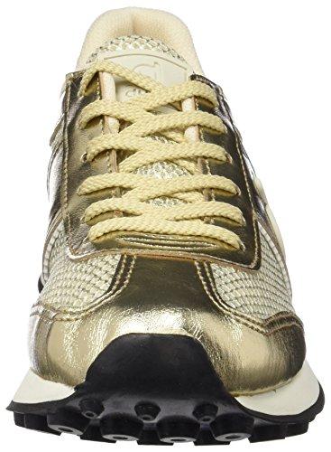DUUO Quim, Zapatillas Para Mujer, Dorado (Dorado Suave), 41 EU