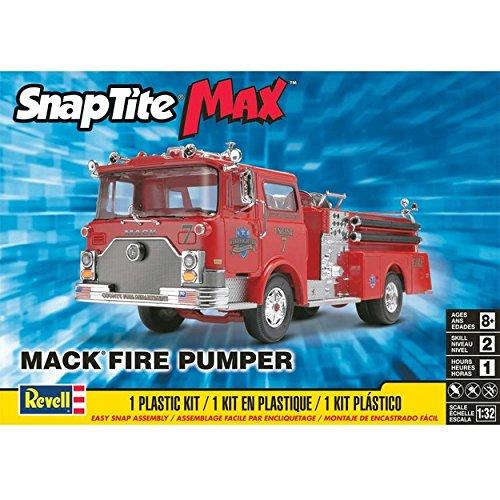 Revell SnapTite Max Mack Fire Pumper Model Kit