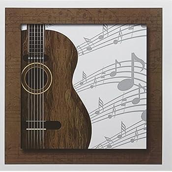 Amazon 3drose guitar music concept greeting cards 6 x 6 3drose guitar music concept greeting cards 6 x 6 set of 12 m4hsunfo