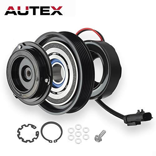 AUTEX A/C Compressor Clutch Assembly Kit for 01-03 Chrysler Voyager 01-07 Chrysler Town & Country 01-07 Dodge Caravan 01-07 Dodge Grand Caravan (Chrysler Town Country Cross)
