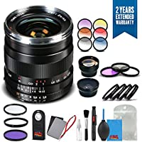 Zeiss Distagon T 25mm f/2.8 ZF.2 Lens for Nikon - 1796-379 with Cleaning Accessory Kit and 2 Year Extended Warranty