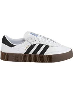 6bb584ab2b0e Amazon.com  Adidas Samba Rose Womens Sneakers White  Shoes