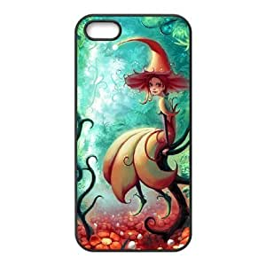 Customized case Of Fairy Hard Case for iPhone 5,5S