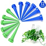 Kyerivs Plant Watering Spikes Indoor Outdoor Automatic Garden Watering Irrigation Device System Care Plants(12pack)