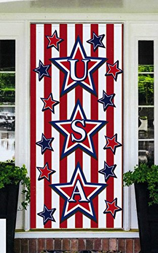 Banner Cover (Regent 4th of July Celebration Patriotic Door Cover Banner 30 x 60 Inch (USA))