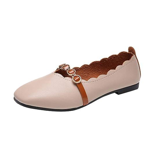 d1cbd91fcff60 Amazon.com: Sharemen Women's Shoes Shallow Feet Square Solid Color ...