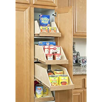 22 Floor Mounted Slides Pantry Pull Out With Metal
