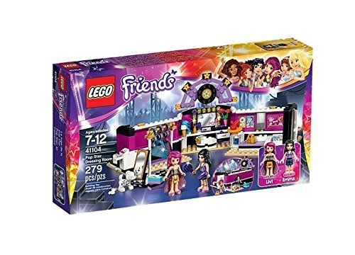 LEGO  Friends pop star make room 41104