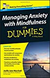 img - for Managing Anxiety with Mindfulness For Dummies book / textbook / text book