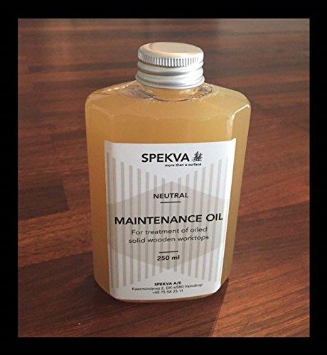 Spekva Neutral Oil 8oz (Best Oil For Wooden Kitchen Worktops)