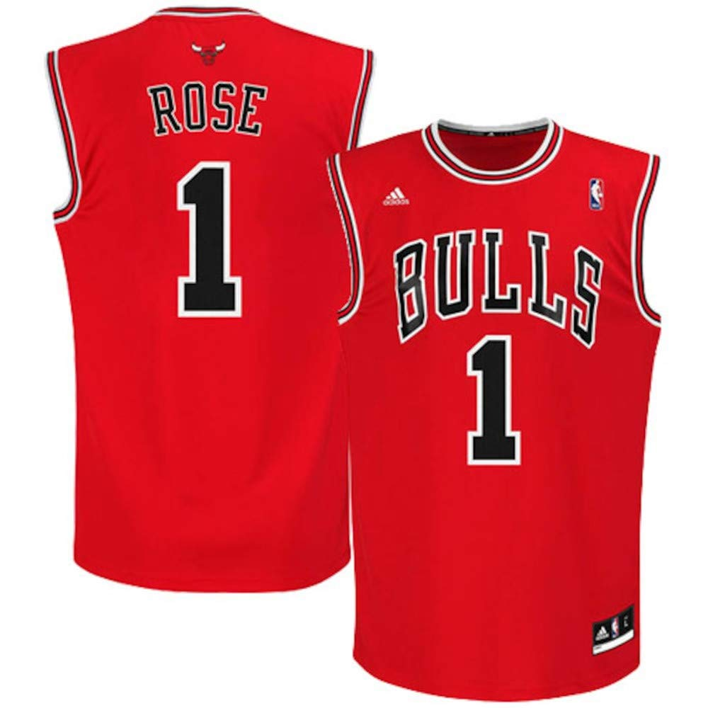 Outdoor stuff Mens Rose #1 Chicago Jersey Red
