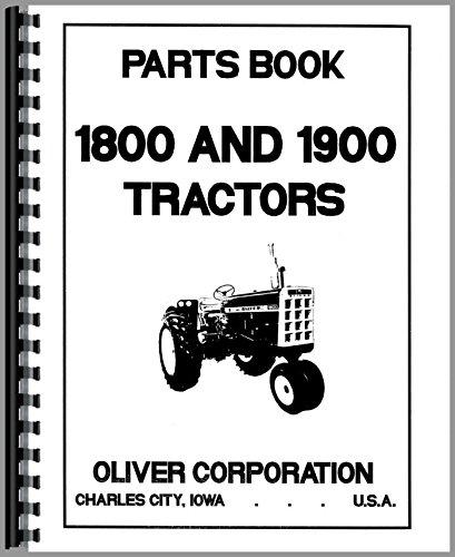 Cockshutt Tractor Parts Manual (OL-P-1800,1900)