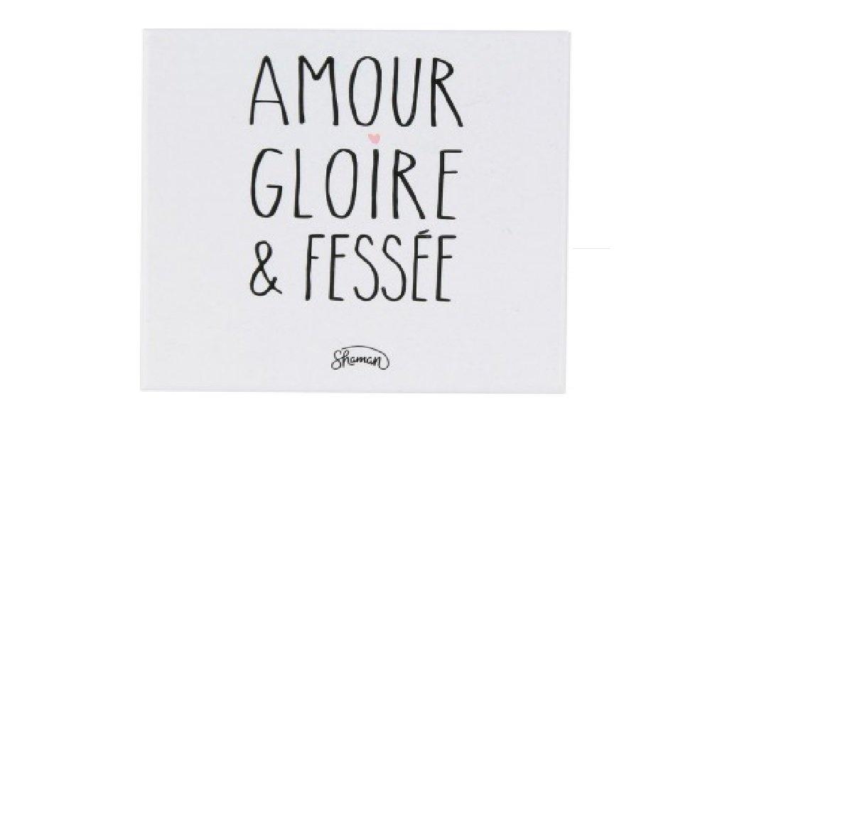 La chaise longue, Magnet 'Amour, gloire et fessée ' Magnet Amour gloire et fessée