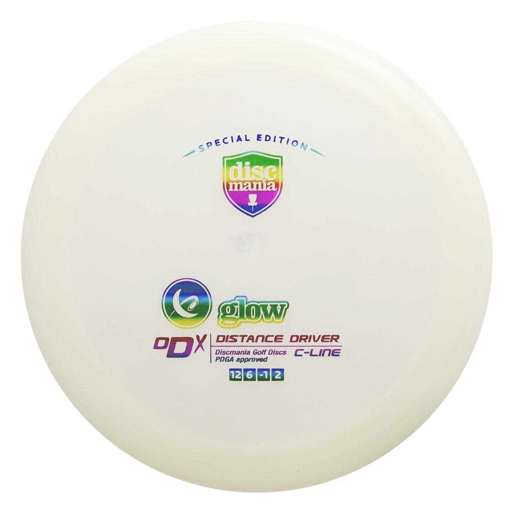 Discmania Limited Editionグローc-line DDX距離ドライバーゴルフディスク[ Colors May Vary ] B07F47GGN8  165-169g