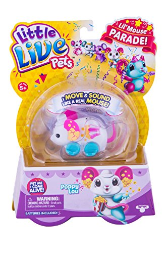 LITTLE LIVE PETS S4 LIL' MOUSE SINGLE PACK POPPY LOU