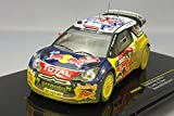 ixo(イクソ) イクソ/IXO / モダンラリーカー ダイキャスト完成品 1/43 シトロエン DS3 2011年WRC ウェールズ GBラリー No.1(汚れ仕様) / 1/43