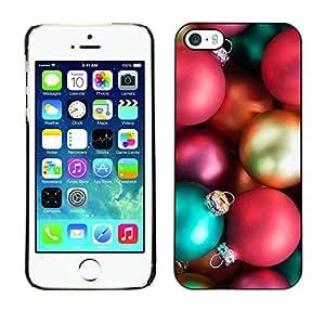 [Neutron-Star] Snap-on Series Teléfono Carcasa Funda Case Caso para iPhone 5 / 5S [Vacaciones de Navidad Decoraciones de Navidad de invierno]