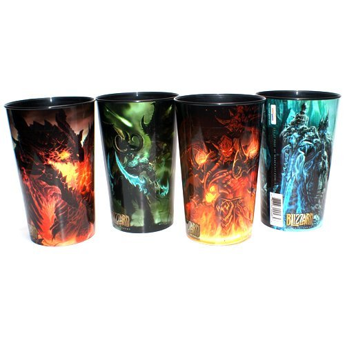 Limited-Edition-World-of-Warcraft-Cups-Set-of-4