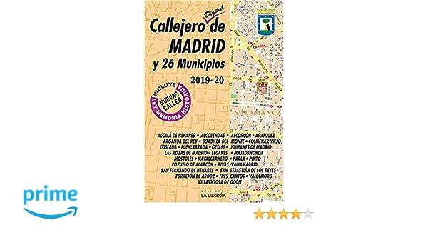 Callejero Digital de Madrid y 26 municipios 2019-2020 ...