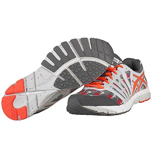 Une Taille Lyte33 Mens Orange 2 Asics Gris Gel Chaussure qwXPxR7p