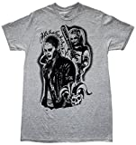 Suicide Squad Harley Quinn Good Night Joker Mens Gray T-shirt XL