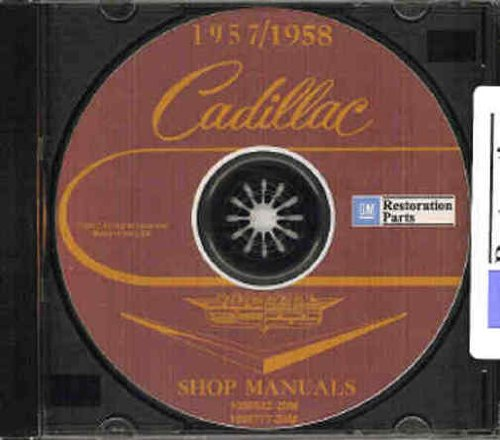 1957-1958 Cadillac Repair Shop Manuals on CD-ROM for all models 57-58