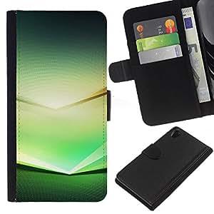 Ihec-Tech / Flip PU Cuero Cover Case para Sony Xperia Z2 D6502 D6503 D6543 L50t - Spectrum