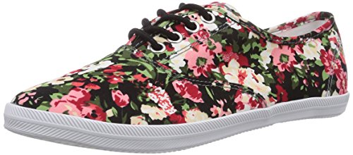 Tamaris 23609 Damen Sneakers Mehrfarbig (Flower/Black 910)