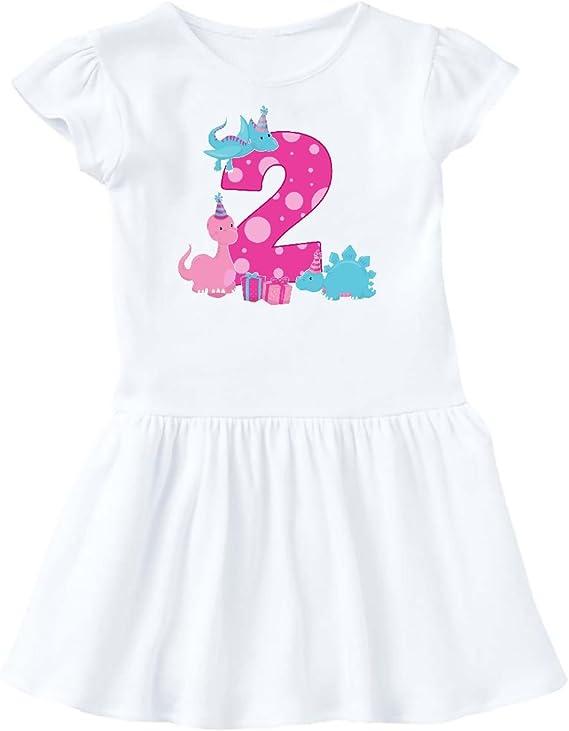 inktastic Dinosaur Girl Toddler T-Shirt