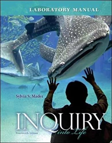 amazon com lab manual for inquiry into life 9780077516246 sylvia rh amazon com