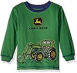 John Deere Toddler Boys Front Loader Tractor Tee, Green, 3T