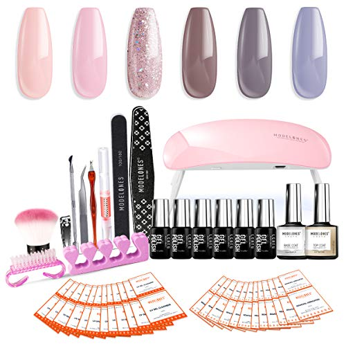 Modelones Gel Nail Polish Starter Kit