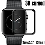 For Apple Watch Screen Protector 38mm,Tempered Glass Screen...