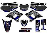 Senge Graphics 2005-2017 Yamaha TTR 230, Surge Black Graphics Kit
