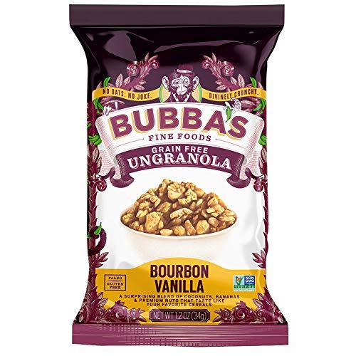 🥇 Bubba's Fine Foods Grain Free Granola Cereal | Bourbon Vanilla