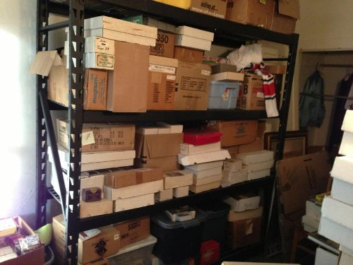 Baseball Card Estate Sale Find Huge 3 Million Card Store Dealer Inventory Sale Box Lot 500