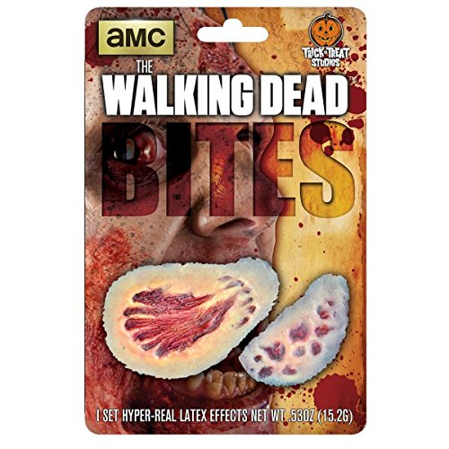 Zombie Makeup Walking Dead (The Walking Dead Zombie Bites Wound Appliance Make Up Kit)