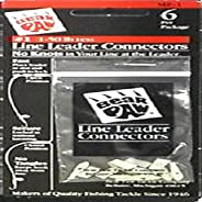 Bear Paw MP1 Leader Connectors 1-50-Pound Line, 6-Pack
