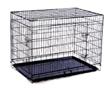 PawHut 36-inch Two Door Folding Metal Dog Crate - Best Reviews Guide