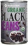 Member's Mark 8 Piece Organic Black Beans, 120 Ounce