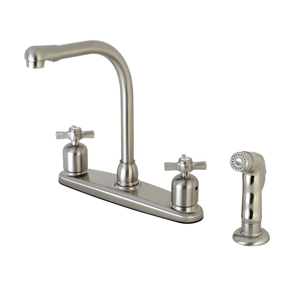 "Kingston Brass Millennium 8/"" Centerset Kitchen Faucet Oil Rubbed Bronze"
